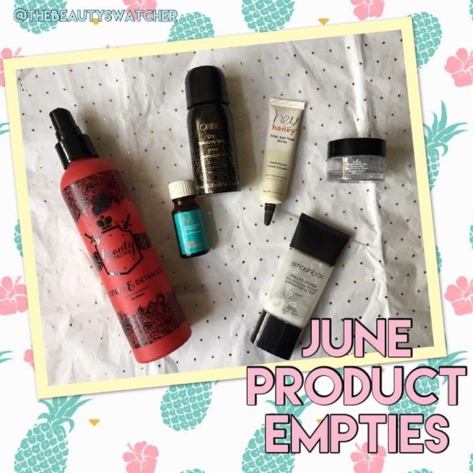 June Product Empties