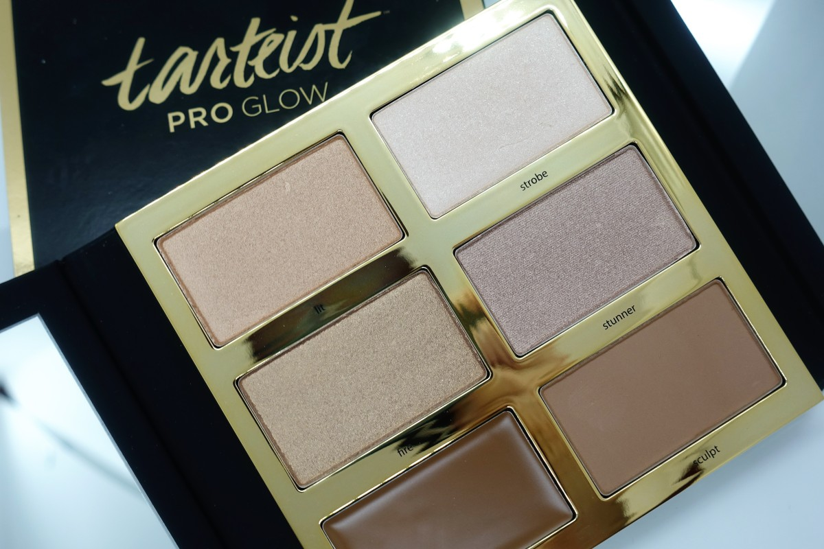 Tarteist Pro Glow Highlight and Contour Palette - Review Time